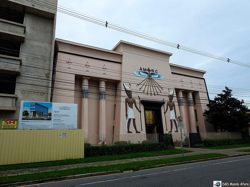 Museu Egípcio e Rosa Cruz em Curitiba, Paraná
