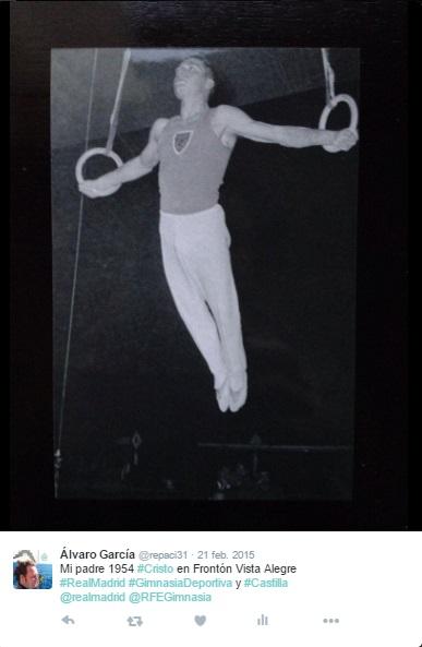 Pedro García San Nicolás - Mi padre en 1954 - Descanse en Paz - Gimnasia - Frontón Vista Alegre - Real Madrid - Gimnasia Deportiva - Selección Castellana de Gimnasia - Un funcionario honrado - ÁlvaroGP - El Troblogdita