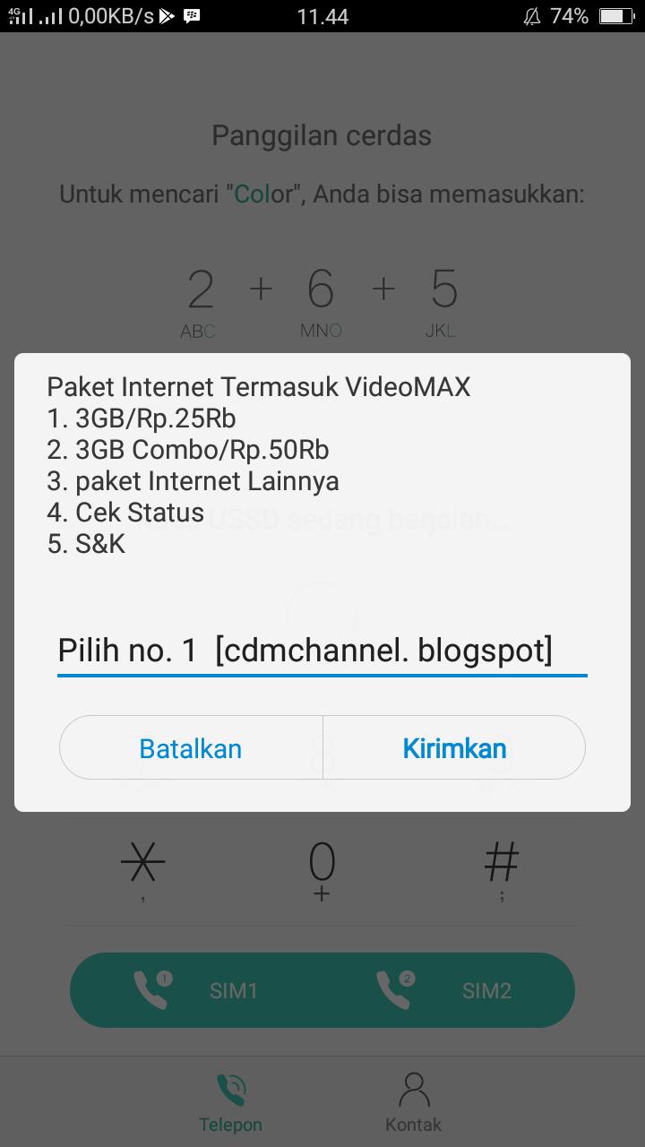 Cara Mudah Membeli Paket 5gb 25rb Di Kartu As Telkomsel Channel