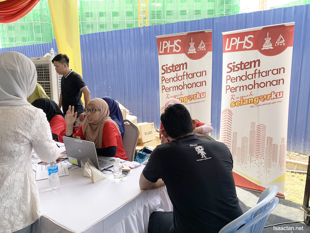 LPHS registration at the site