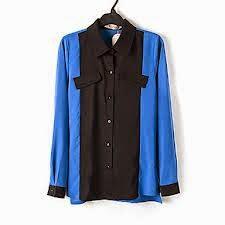 Patrón blusa con bloques de tela