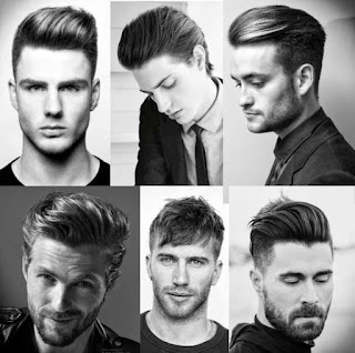 gaya potongan rambut pria