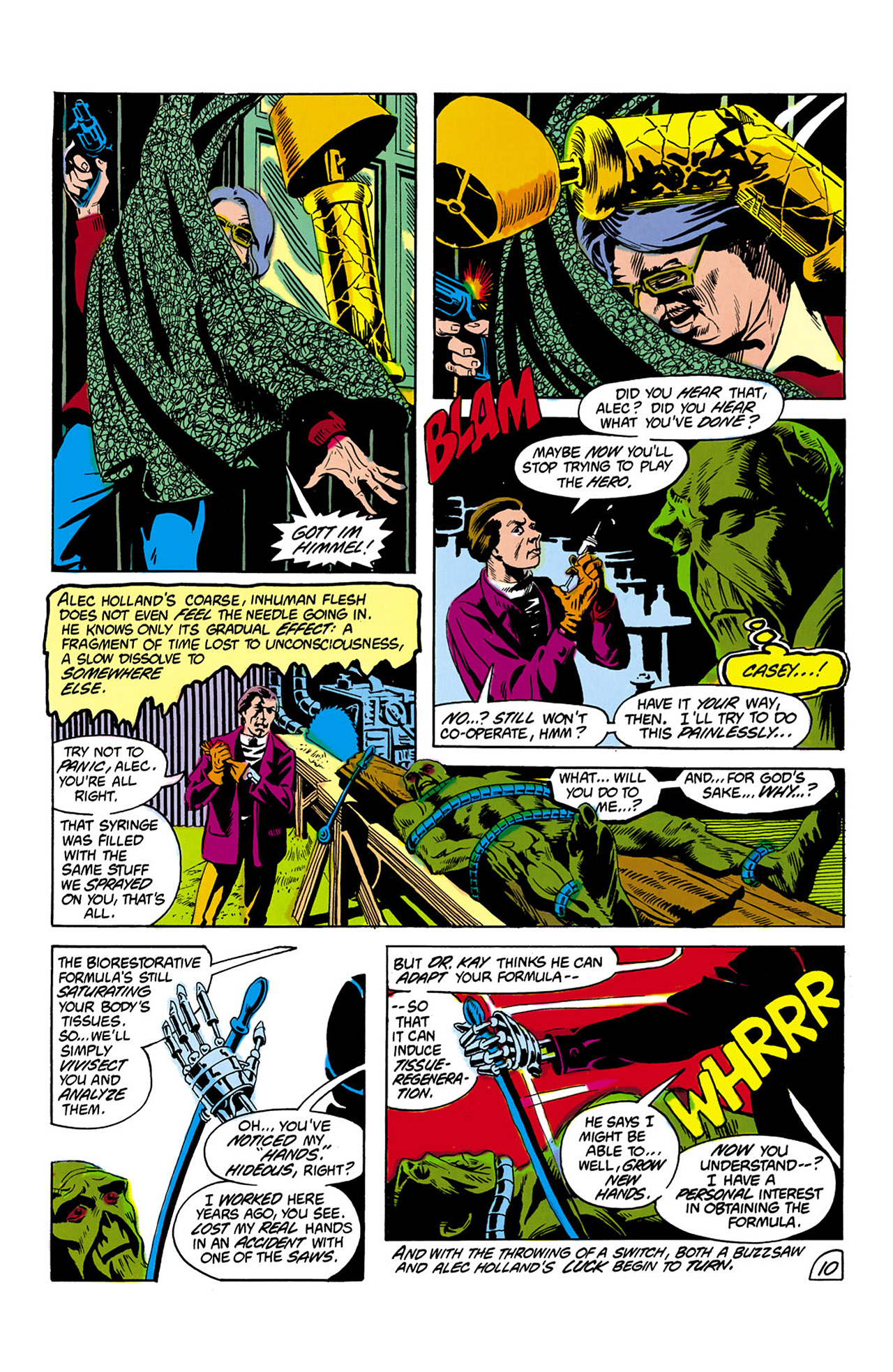Swamp Thing (1982) Issue #2 #10 - English 11