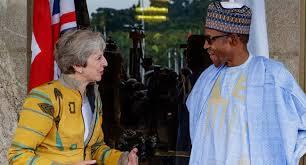 Theresa May Visits Nigeria