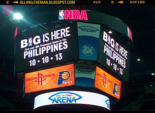 Cheapest Seats To Pacers Vs Rockets Nba Game In Manila