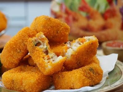 Resep Nugget Tahu Wortel Crispy