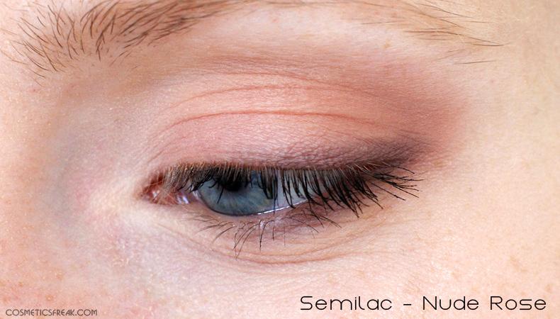 semilac cienie makijaż