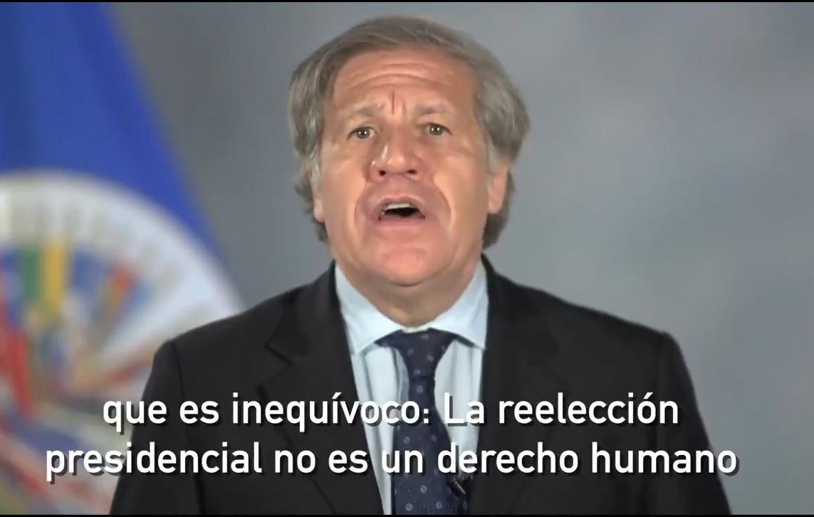 Almagro hizo la consulta a la Comisión de Venecia en 2017 / OEA