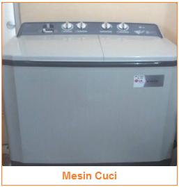 Teknologi Peralatan Rumah Tangga - Jenis-Jenis Teknologi - Mesin Cuci