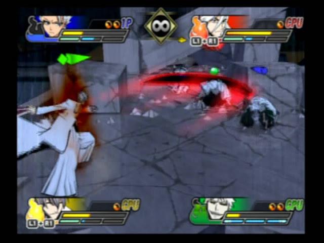 Bleach Blade Battlers 2nd PS2 GAME ISO Screenshot 2
