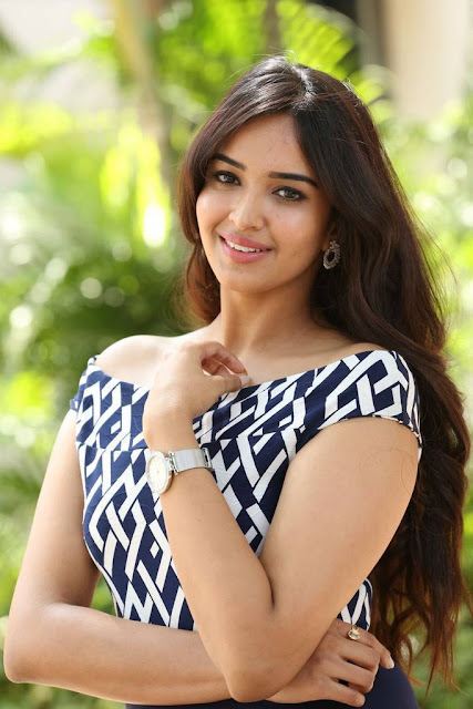 Pujita Ponnada Stills At The Prank Movie Logo Launch