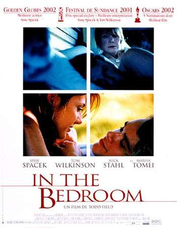 Poster Of In the Bedroom 2001 English 550MB Web-DL 720p ESubs HEVC Free Download Watch Online downloadhub.in