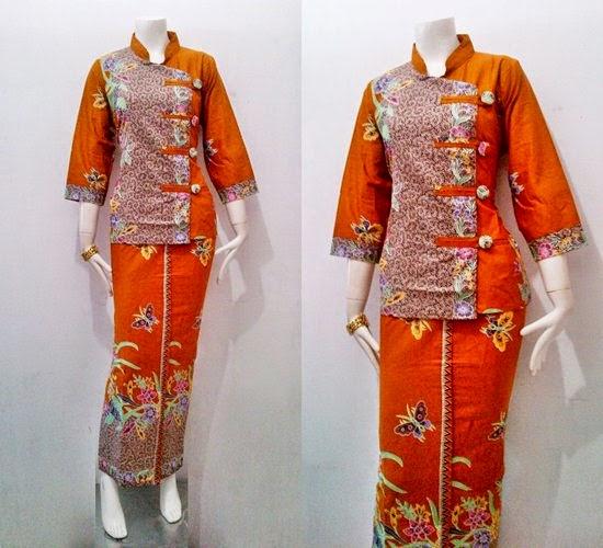 Batik Bagoes Solo Model Baju Batik Gamis Modern Diana Series