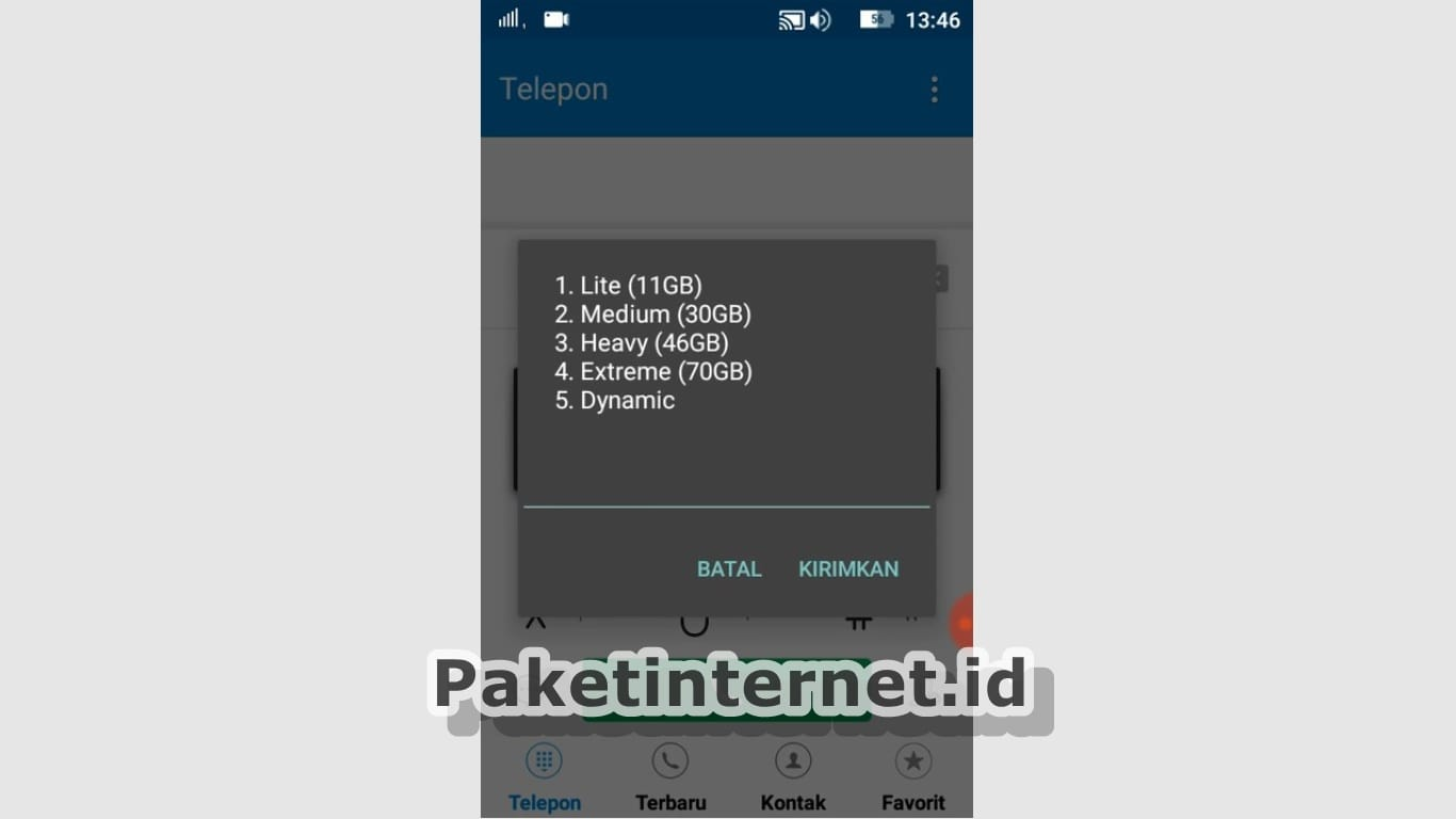 Paket Internet Telkomsel 3G