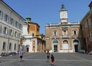 Ravenna, Plaza del Popolo.