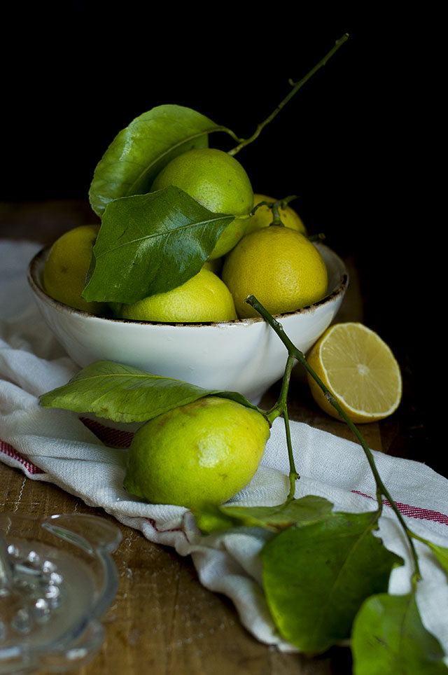 Limones lemon pasta fresca