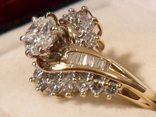 Used Diamond Rings Ebay