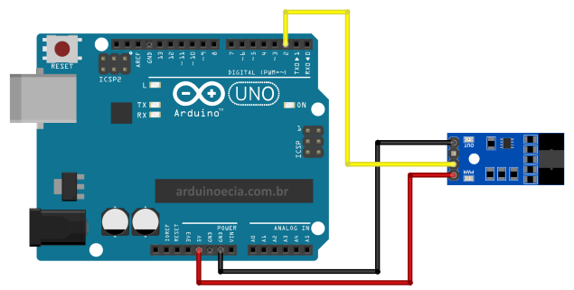 LM393 Speed Sensor Arduino