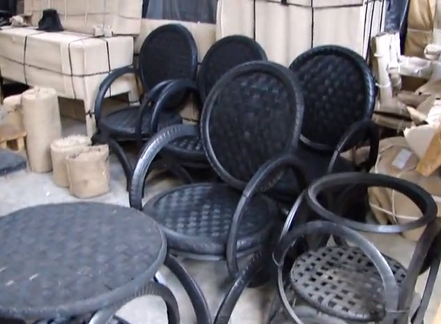 How The Invention Furniture Products From Recycled Bike