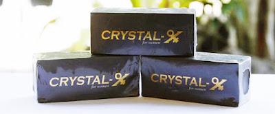Crystal X dengan berjuta manfaat yang bisa di rasakan untuk wanita