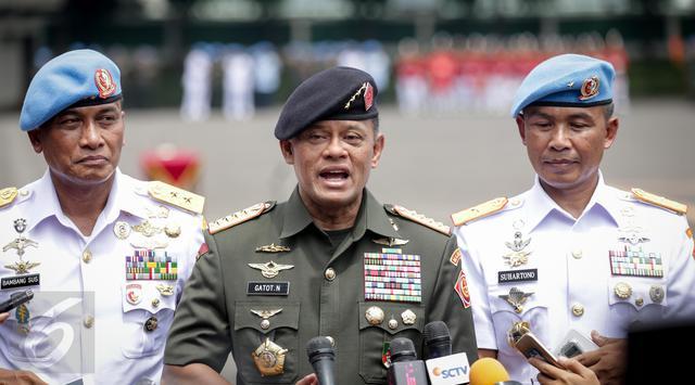 Gatot Nurmantyo: Selamat Berjuang, Saat ini Negara Memanggil Kamu untuk Berperang