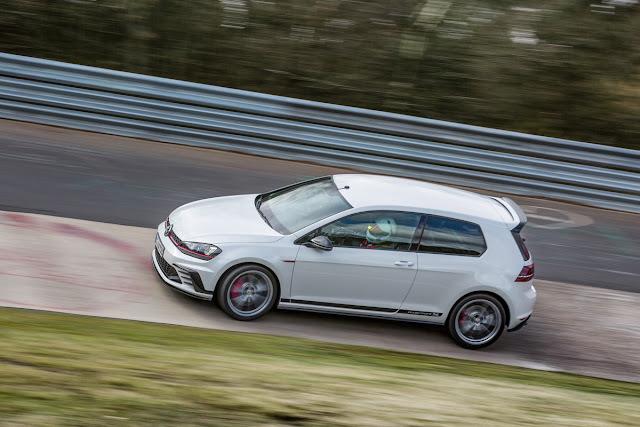 Το Volkswagen Golf GTI Clubsport S εκθρονίζει το Type-R στο Ring