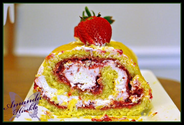 Strawberry Shortcake Jelly Roll Recipes