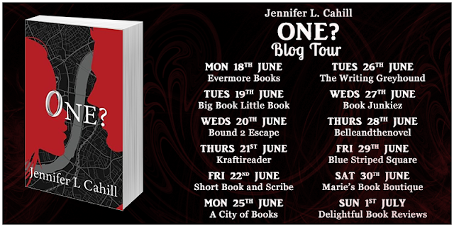 one, jennifer-l-cahill, book, blog-tour