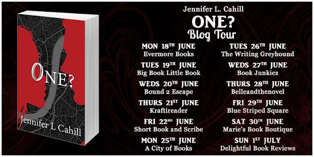 one, jennifer-l-cahill, book, blog-tour
