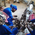 Photos of proud Hausa female mechanics