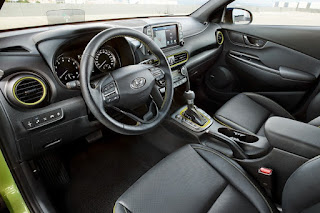 Hyundai Kona (2018) Interior