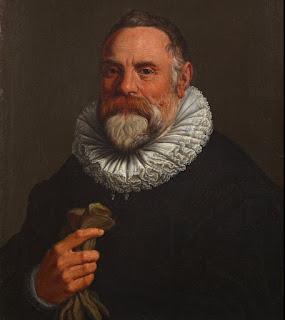Ulisse Aldrovandi: a portrait housed at the Accademia  Carrara in Bergamo, attributed to Agostino Carracci
