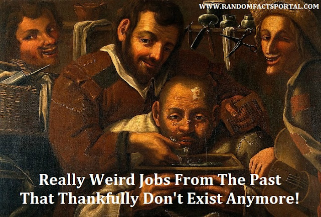 Really Weird Jobs From The Past That Thankfully Don't Exist Anymore!