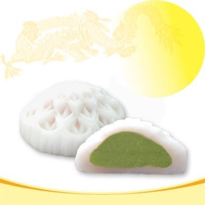 Bánh trung thu Bibca - Dẻo hạt sen trà xanh không trứng