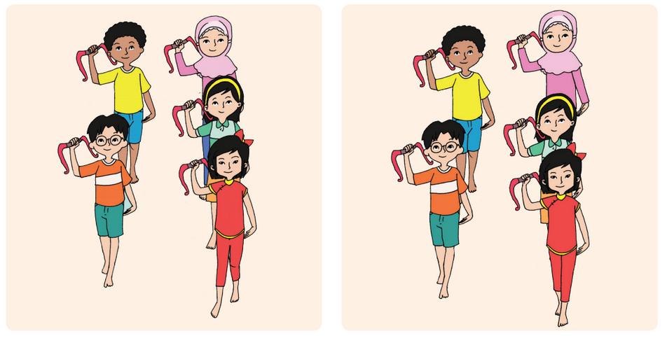 Pola Lantai Gerak Tari Halaman 109 Belajar Kurikulum 2013