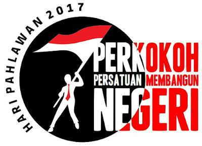 Apa slogan peringatan Hari Pahlawan tahun  Tema, Slogan, dan, Hashtag, dan Logo Hari Pahlawan ke-73 Tahun 2018