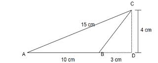 contoh soal luas segitiga dan pembahasan 2