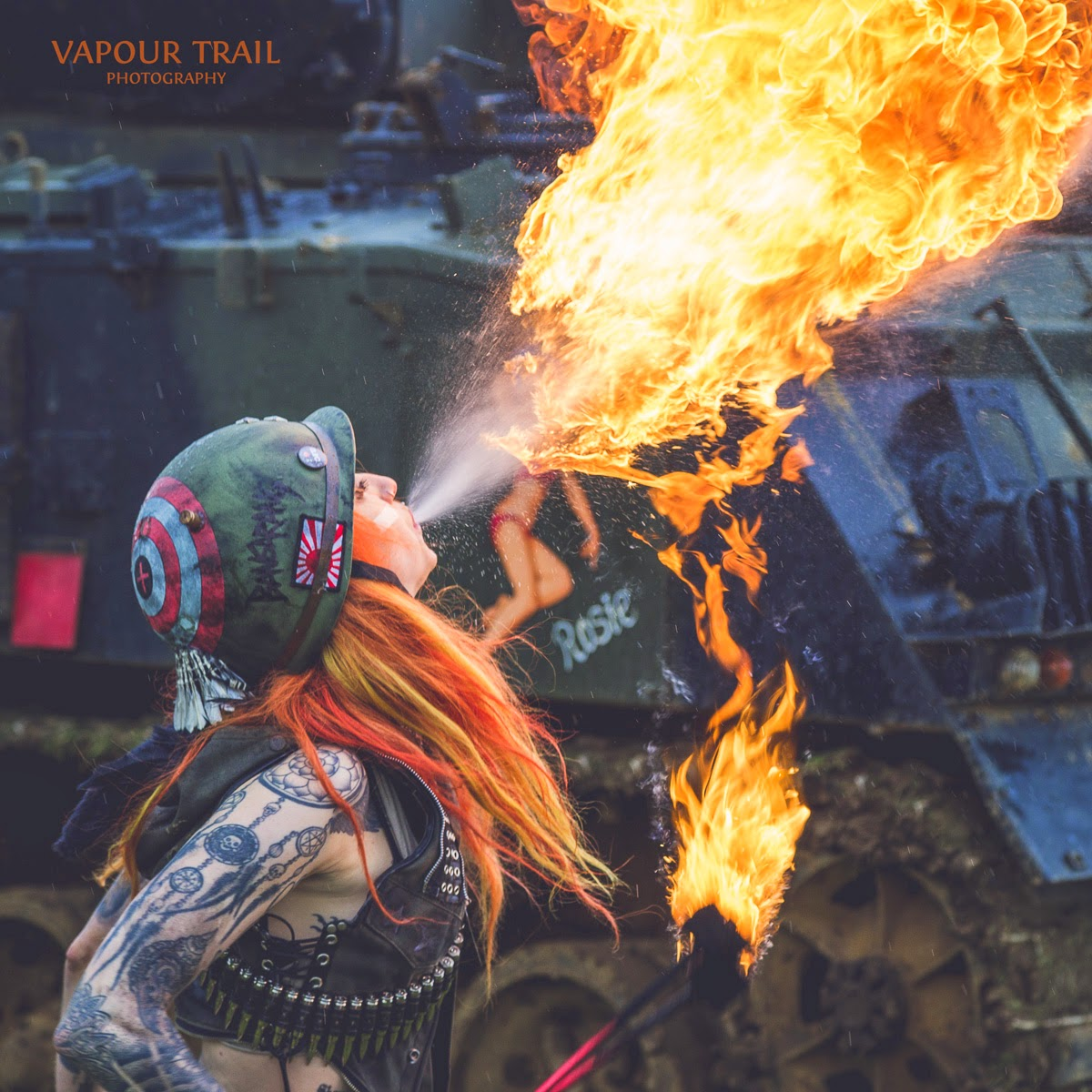 Pyrohex (Shelly D'Inferno) by Vapour Trail Photography
