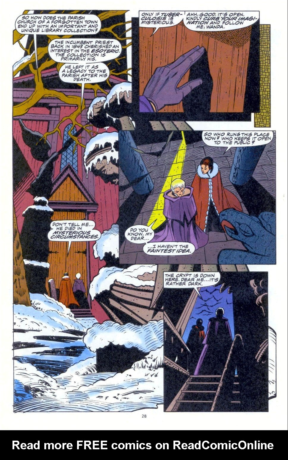 Scarlet Witch (1994) Issue #1 #1 - English 21