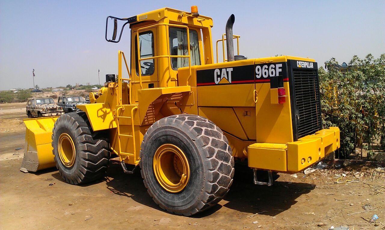 Rafiq Brothers Cat 966f 1 Wheel Loader For Sale In