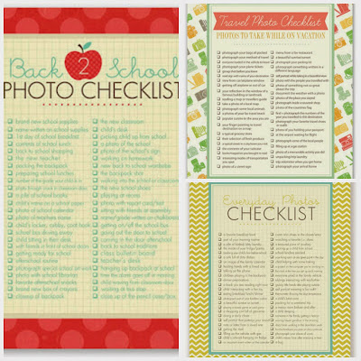 photos checklist