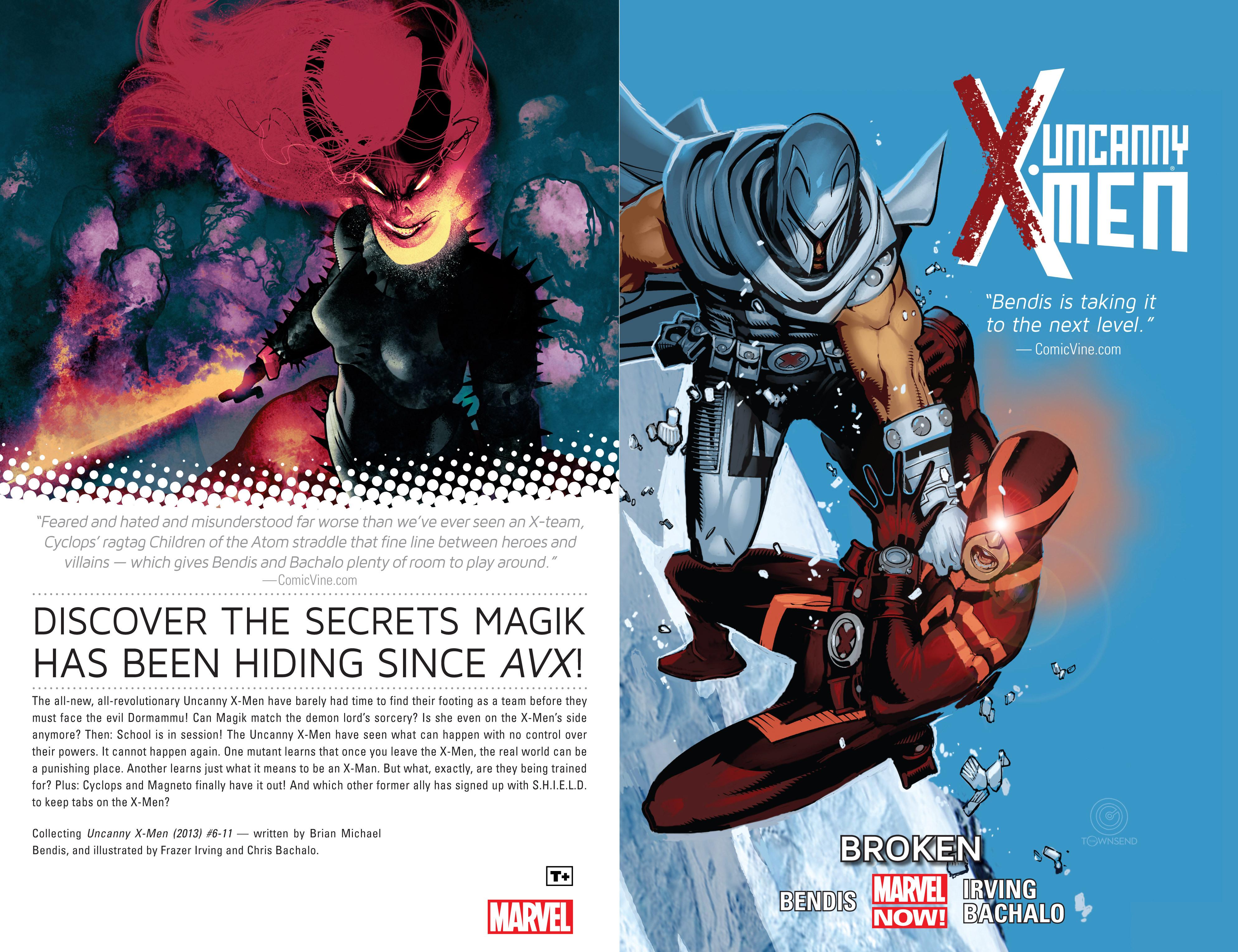 Read online Uncanny X-Men (2013) comic -  Issue # _TPB 2 - Broken - 2