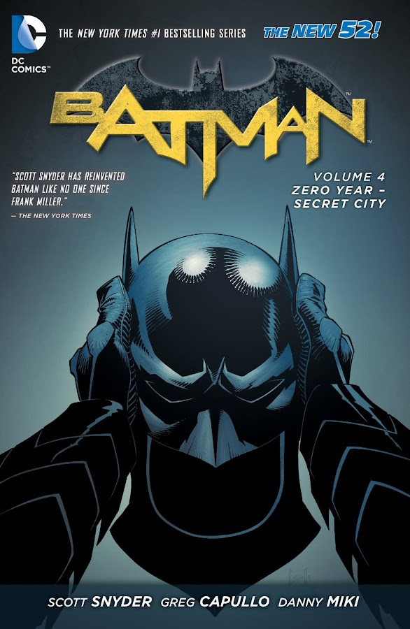 batman zero year secret city