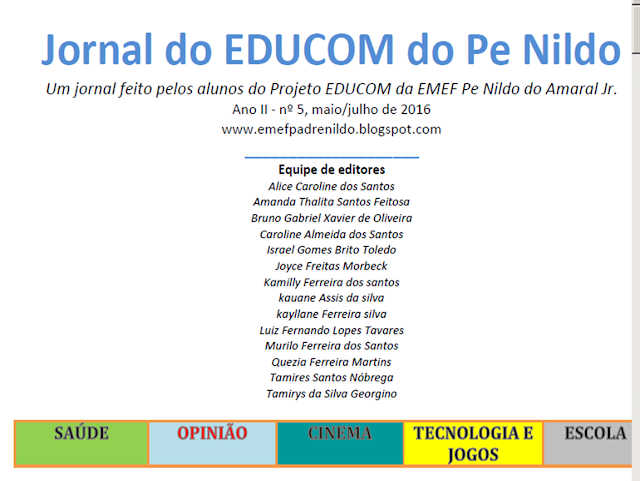 http://issuu.com/emefpadrenildodoamaraljr./docs/jornal_do_educom_02_2016