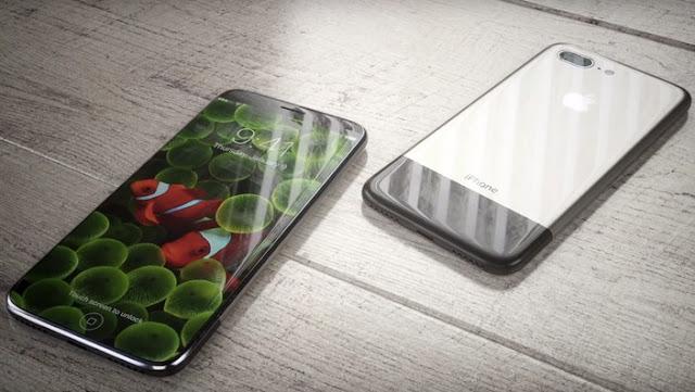 Ponsel Pintar Berlayar Melengkung iPhone 8