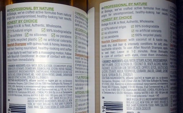 Biolage-RAW-ingredientes