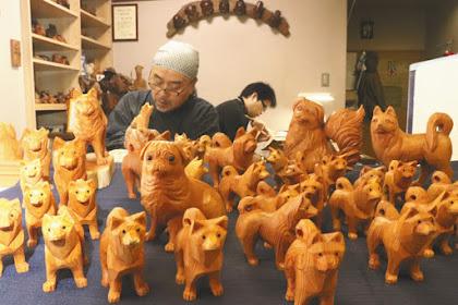 飛騨地域伝統一位一刀彫鈴木彫刻