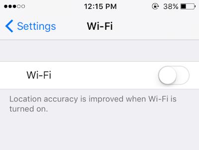 Wi-Fi Problem