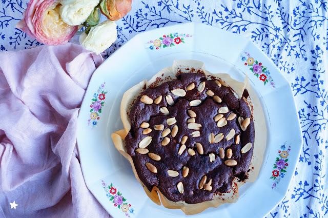 fondant chocolat cacahuètes vegan