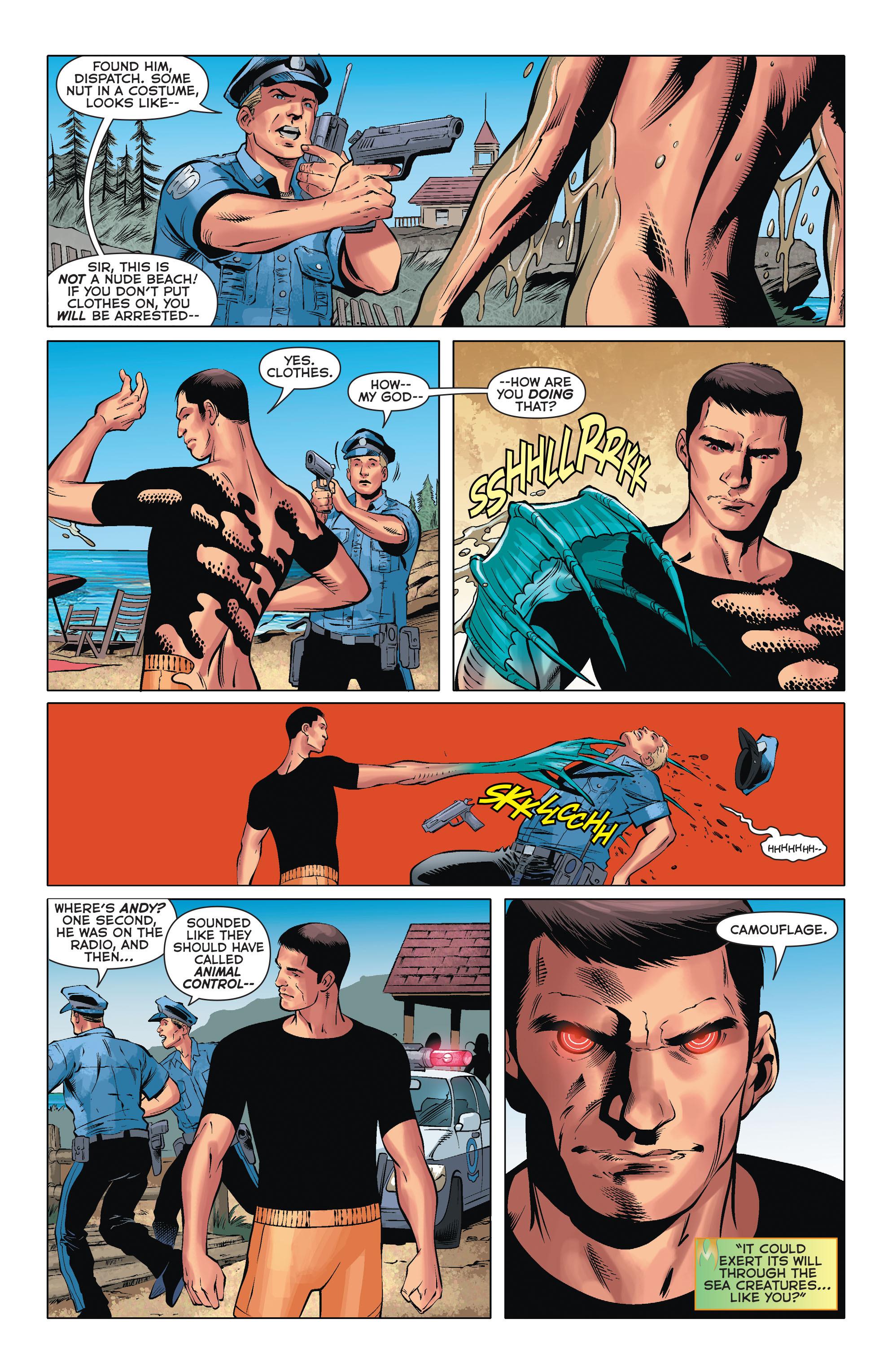 Read online Aquaman (2011) comic -  Issue #33 - 12